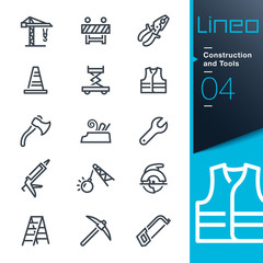 Lineo - Construction and Tools outline icons