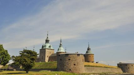 Kalmar, Altstadt, Küste, Schloss, Sommer, Schweden