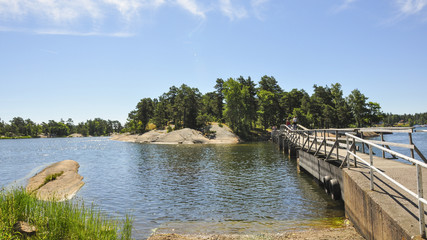Västervik, Küste, Badetag, Sommer, Schweden