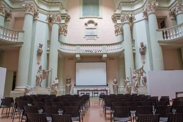 """Aula of """"Accademia di Belle Arti"""" in Bologna"""