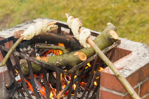 Stockbrot Grillen Stock Photo And Royalty Free Images On Fotolia
