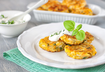 Healthy vegetarian patties