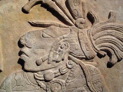 Ancient Maya lintel