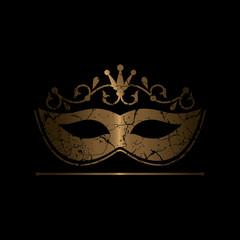 cracky golden mask