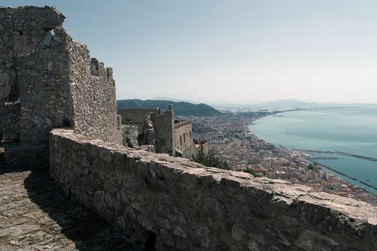 Salerno - Castello Arechi e Panorama