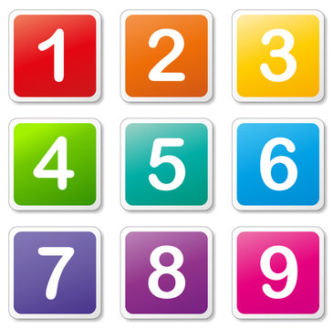 Vector numbers tags