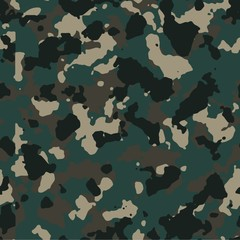 Dark urban seamless vector camo