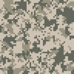 digital camo vector pattern