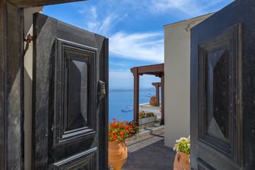 Fototapete - Greece Santorini