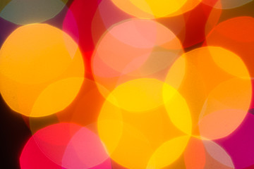 Soft golden light