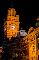 Flinders Street Station  - Melbourne