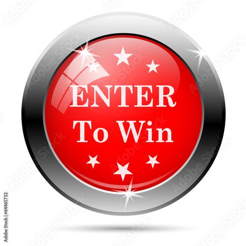 enter to win icon - photo #2