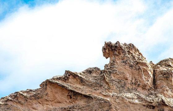 """Bull"" rock formation in Garden of the Gods in Colorado Springs"
