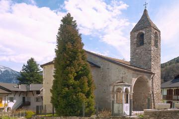 Wall Mural - Trentino, Calceranica al Lago, Chiesa di San Ermete, Chiesa Sant