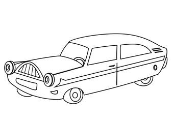 car - coloring book