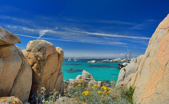 plage et rochers
