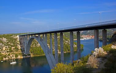 Brücke in Kroatien