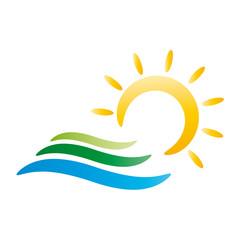 Sommer - Sonne - Strand und Wasser