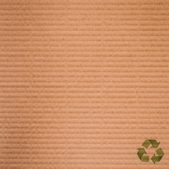 brown paper cardboard background and texture close up