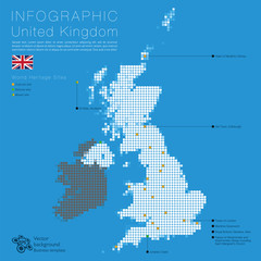 Infographic UK Map