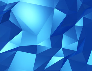 Polygonal design, Abstract geometrical background.