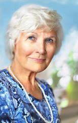 Charmante Seniorin