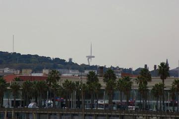 """Funkturm """"Die Nadel""""  Barcelona"""