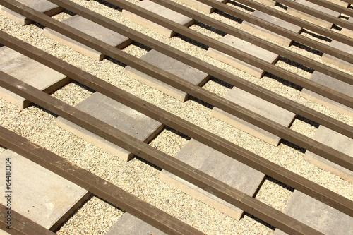 Hausbau Terrasse Unterbau Viii Stockfotos Und Lizenzfreie Bilder
