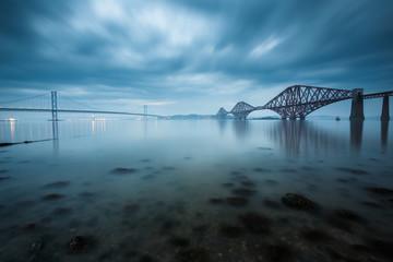 Canvas Prints Bridge Forth bridges in Edinburgh, Scotland