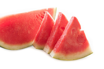 Watermelon isolation white background