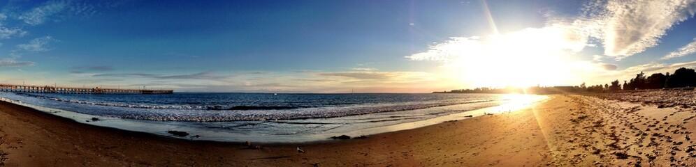 ocean view beach in Sanra Barbara CA