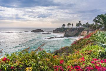 Beautiful park at Laguna Beach Fototapete