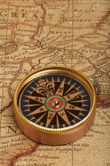 Wall Mural - Vintage compass