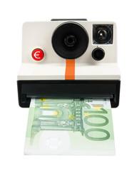 Instant cash camera