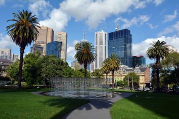 Victoria Parliament Gardens Reserve - Melbourne