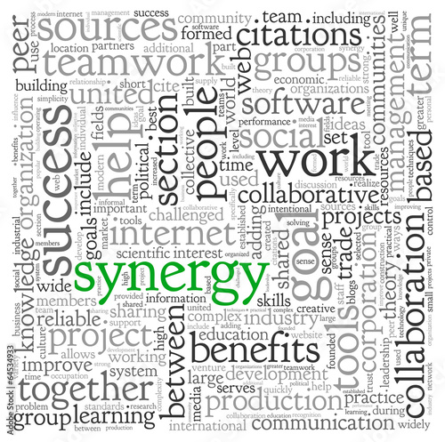 concept of synergy and benefits of being in a team How to create synergy in the workplace it is not a touchy-feely concept  what are the benefits of team coaching in the workplace.