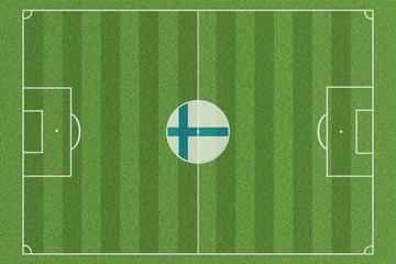 Fussballfeld Finnland