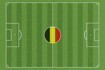 Fussballfeld Belgien