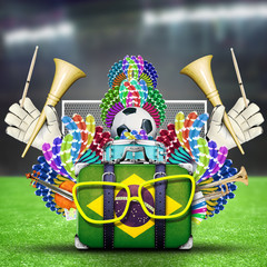 Brazil, the world football championship, festival and a carnival