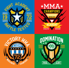Fight Academy MMA emblems