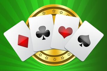 Illustration for design casino