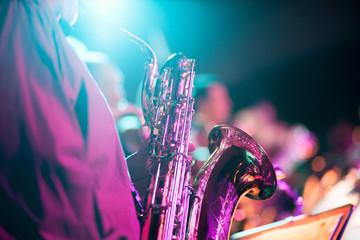 Musik Konzert Event mit Saxofon