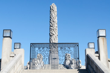 Vigeland centerpiece and gate