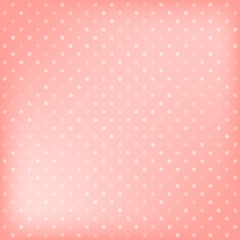 Polka dot pink background