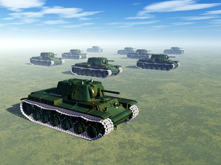Russian Heavy Tanks of World War II