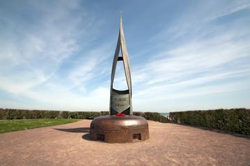 """France, Ouistreham - Mémorial """"La Flamme"""""""