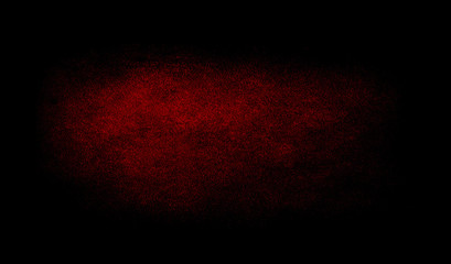 Red texture background with spotlight.