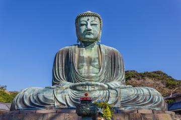 The Great Buddha at Kotokuin Temple in Kamakura