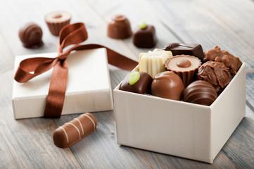 Fototapeta chocolates obraz