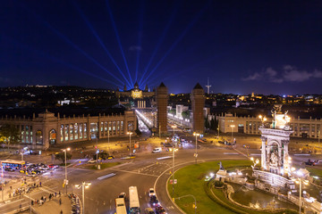 piazza di Spagna, Barcellona, Spagna
